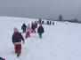 Procházka hlubokým sněhem- Sovičky
